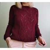 Marseille pulóver kötésminta leírása
