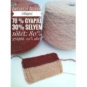 Tweed-selyem